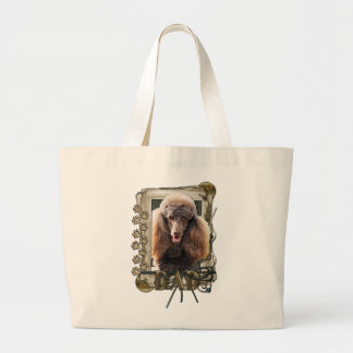 Fathers Day - Stone Paws - Poodle - Chocolate -Dad Bag
