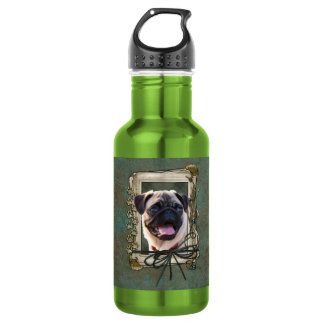 Fathers Day - Stone Paws - Pug 532 Ml Water Bottle