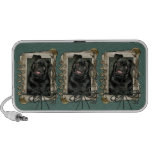 Fathers Day - Stone Paws - Pug - Ruffy Notebook Speakers