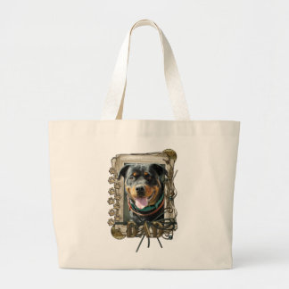 Fathers Day - Stone Paws Rottweiler SambaParTi Dad Bags