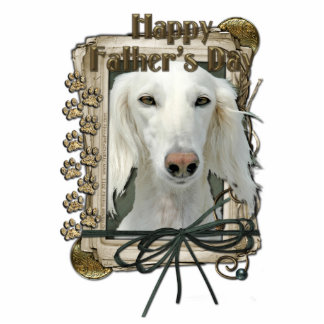 Fathers Day - Stone Paws - Saluki Cut Outs