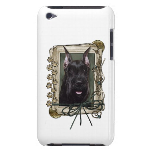 Fathers Day - Stone Paws - Schnauzer iPod Touch Cover