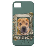 Fathers Day - Stone Paws - Shar Pei Barely There iPhone 5 Case