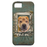 Fathers Day - Stone Paws - Shar Pei iPhone 5 Cases