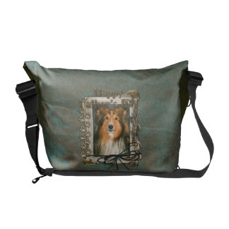 Fathers Day - Stone Paws - Sheltie Commuter Bag