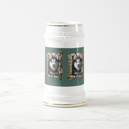 Fathers Day - Stone Paws - Siberian Husky Beer Steins