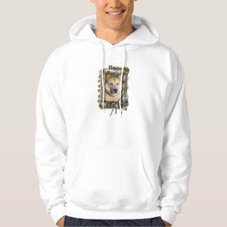 Fathers Day - Stone Paws Siberian Husky Copper Dad Sweatshirt