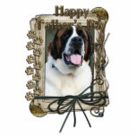 Fathers Day - Stone Paws - St Bernard - Mae Cut Outs