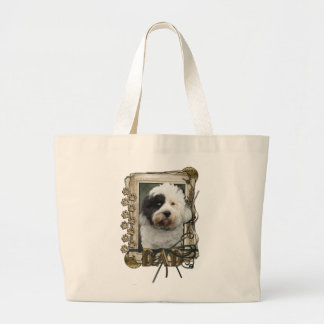 Fathers Day - Stone Paws - Tibetan Terrier - Dad Bag