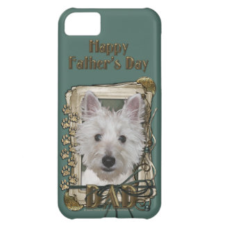 Fathers Day - Stone Paws - West Highland Terrier Cover For iPhone 5C