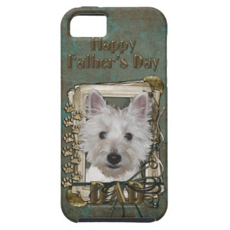 Fathers Day - Stone Paws - West Highland Terrier Case For The iPhone 5