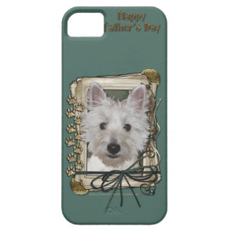 Fathers Day - Stone Paws - West Highland Terrier iPhone 5 Covers
