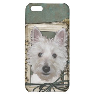 Fathers Day - Stone Paws - West Highland Terrier iPhone 5C Cover