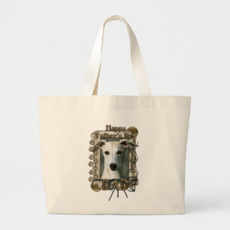 Fathers Day - Stone Paws - Whippet - Dad Canvas Bag