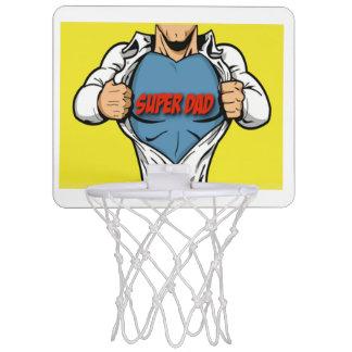 Father's Day Super Dad BasketBall Net Mini Basketball Backboard