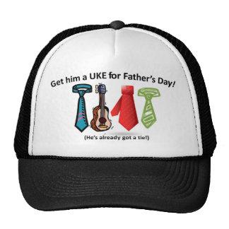 Father's Day Ukulele Cap