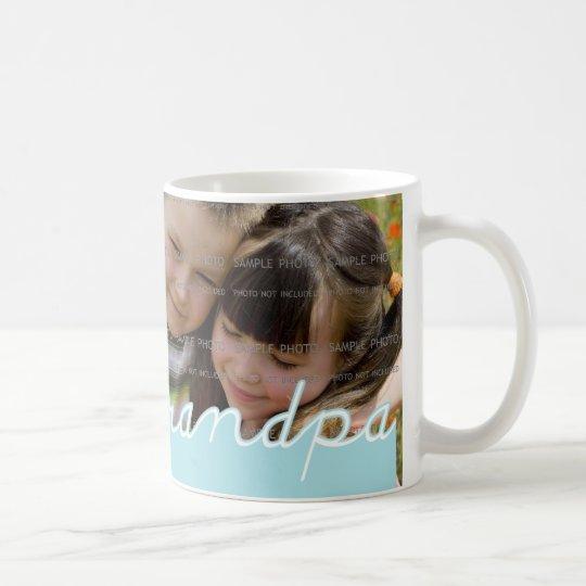 "Father's Day ""We Love Grandpa"" Mug with Photo"