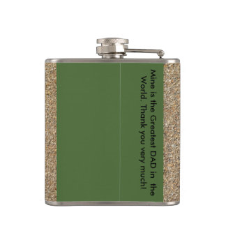 Father's Day with horse pics Hip Flasks