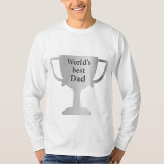 Fathers Day Worlds Best Dad Cup T-Shirt