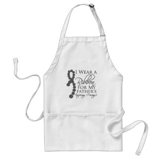 Father's Inspiring Courage - Skin Cancer Standard Apron