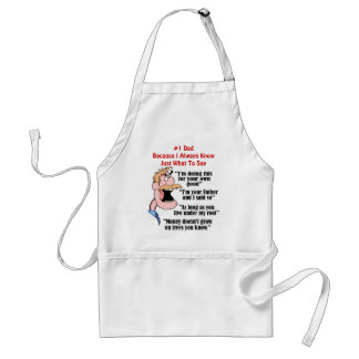 Father's Word Of Wisdom Standard Apron
