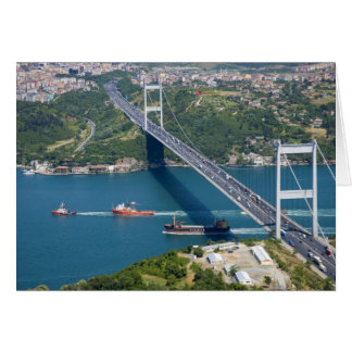 Fatih Sultan Mehmet Bridge over the Bosphorus, Card