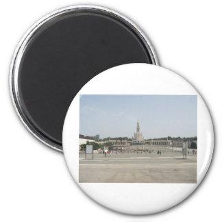Fatima 6 Cm Round Magnet