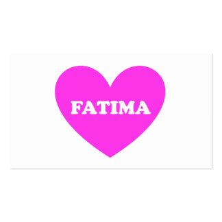 Fatima Business Cards