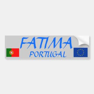 Fatima, Portugal Bumper Sticker