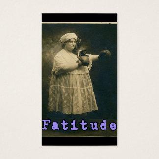 Fatitude! Business Card