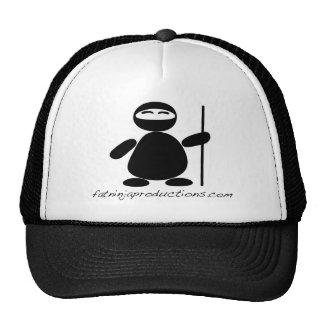 FatNinjaWithText Trucker Hat