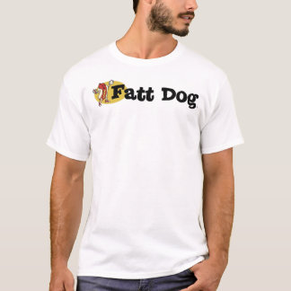 Fatt Dog Logo Tee (front side only)