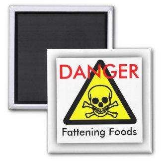 Fattening Foods, DANGER Magnet