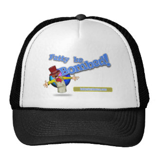 Fatty be Bombed! PNG transparent Mesh Hats