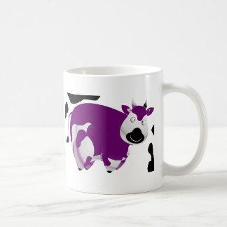 Fatty Big Cow Basic White Mug