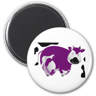 Fatty Big Cow 6 Cm Round Magnet