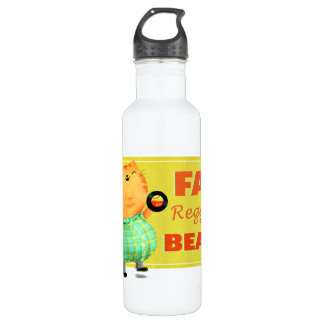 Fatty Fatty Fat Reggae Cat 710 Ml Water Bottle