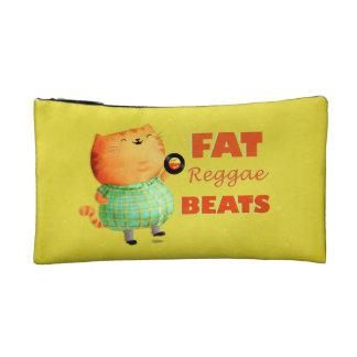 Fatty Fatty Fat Reggae Cat Cosmetic Bags