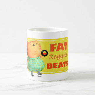 Fatty Fatty Fat Reggae Cat Coffee Mug