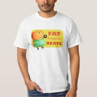 Fatty Fatty Fat Reggae Cat T-Shirt