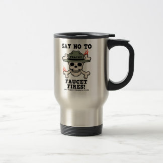 Faucet Fires Stainless Steel Travel Mug