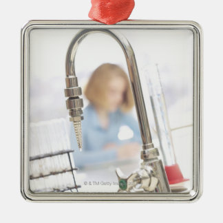 Faucet in classroom christmas ornament