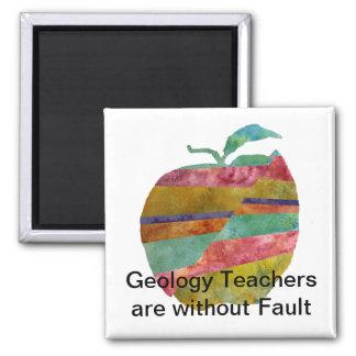 Fault line Apple Magnet