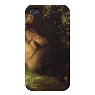 Faun and Nymph, 1868 iPhone 4 Covers