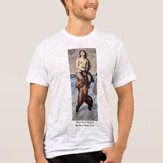 Faun And Nymph By Stuck Franz Von T-Shirt