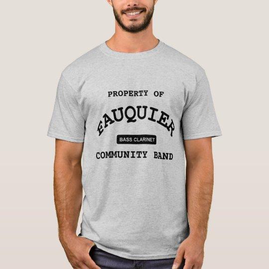 Fauquier Band -- BASS CLARINET T-Shirt