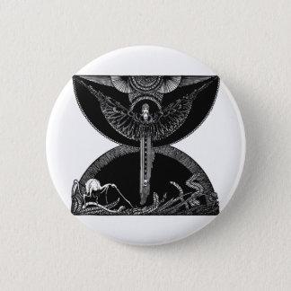 Faust 024 6 cm round badge