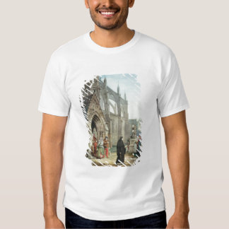Faust and Marguerite, 1857 (w/c on paper) T-shirt