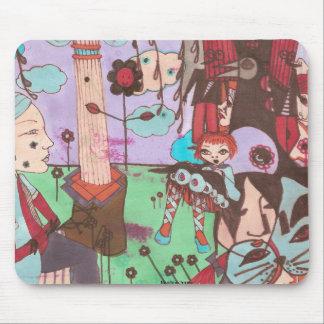 faustine surrealistic mousepad