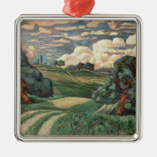 Fauve Landscape Christmas Ornament